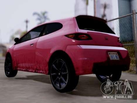 GTA 5 Blista pour GTA San Andreas laissé vue