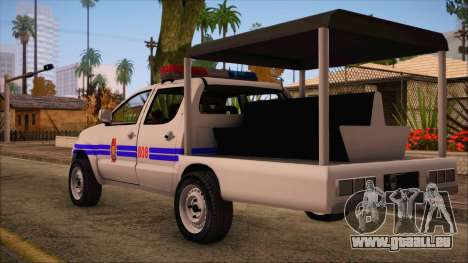 Toyota HiLux Philippine Police Car 2010 für GTA San Andreas linke Ansicht