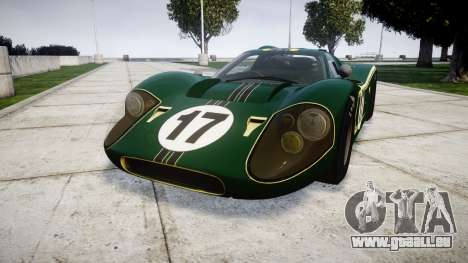 Ford GT40 Mark IV 1967 PJ 17 pour GTA 4