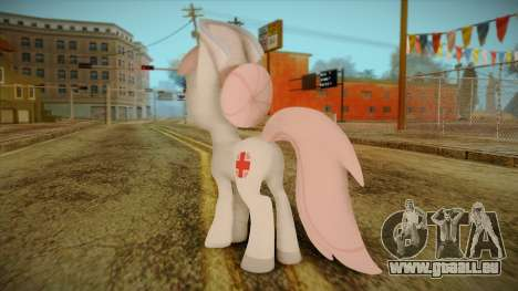 Nurseredheart from My Little Pony für GTA San Andreas zweiten Screenshot