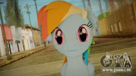 Rainbow Dash from My Little Pony pour GTA San Andreas troisième écran