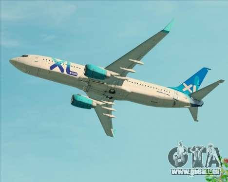 Boeing 737-800 XL Airways für GTA San Andreas
