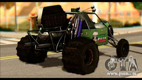 Buggy Fireball from Fireburst für GTA San Andreas linke Ansicht