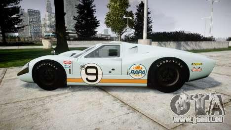 Ford GT40 Mark IV 1967 PJ RAPA olio 9 pour GTA 4 est une gauche