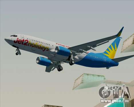 Boeing 737-800 Jet2Holidays pour GTA San Andreas