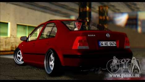Volkswagen BorAir für GTA San Andreas zurück linke Ansicht