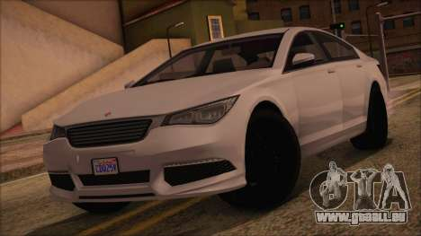 GTA 5 Ubermacht Sport pour GTA San Andreas