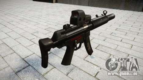 Gun MP5SD EOTHS CS für GTA 4 Sekunden Bildschirm