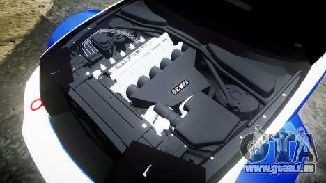 BMW M3 E46 GTR Most Wanted plate NFS-Hero für GTA 4 Seitenansicht