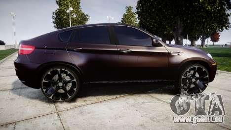 BMW X6M rims2 für GTA 4 linke Ansicht