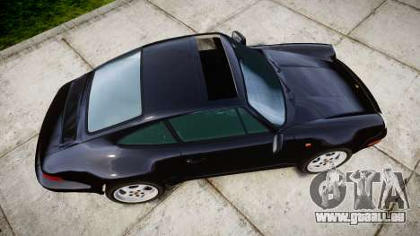 Porsche 911 (964) Coupe Razval pour GTA 4 est un droit