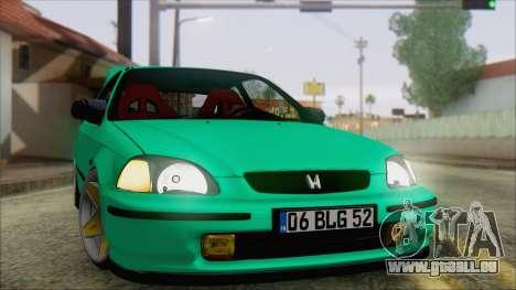 Honda Civic HB für GTA San Andreas
