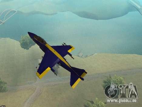 BlueAngels Hydra pour GTA San Andreas