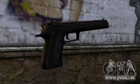 Grammaton Cleric Beretta v1 pour GTA San Andreas deuxième écran