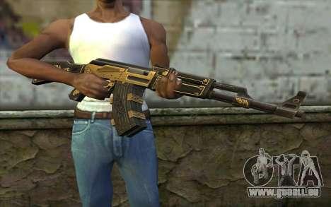 AK47 from PointBlank v1 pour GTA San Andreas troisième écran