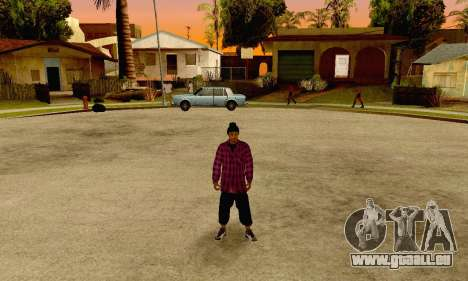 The Ballas Gang Skin Pack pour GTA San Andreas cinquième écran