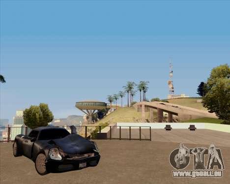 Stinger pour GTA San Andreas vue arrière