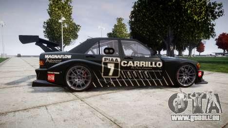 Mercedes-Benz 190E Evo II GT3 PJ 2 pour GTA 4 est une gauche