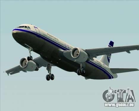 Airbus A320-200 CNAC-Zhejiang Airlines für GTA San Andreas Motor