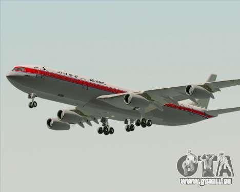 Airbus A340-300 Air Koryo für GTA San Andreas Innenansicht