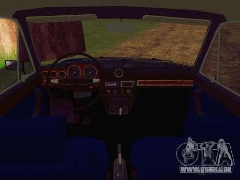 VAZ-2106 Polizei für GTA San Andreas rechten Ansicht