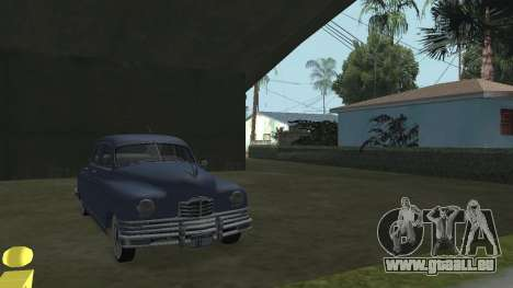 Packard Touring  Sedan pour GTA San Andreas