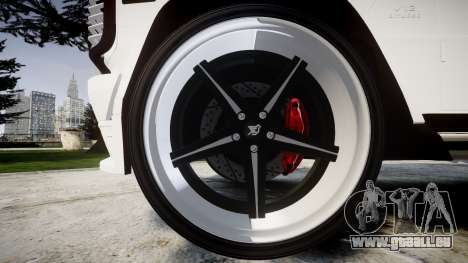 Mercedes-Benz G55 AMG Grand Edition Hamann für GTA 4 Rückansicht