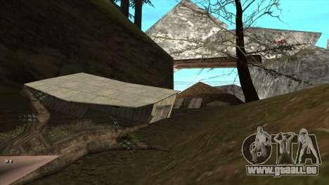 Трасса Offroad v1.1 par Rappar313 pour GTA San Andreas sixième écran