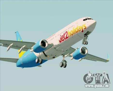 Boeing 737-800 Jet2Holidays pour GTA San Andreas laissé vue
