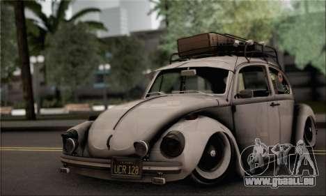 Volkswagen Beetle für GTA San Andreas