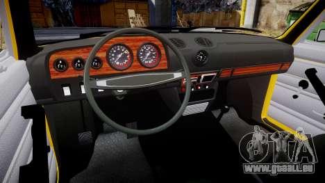 VAZ-2106 für GTA 4 Innenansicht