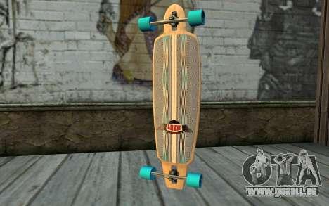Longboard pour GTA San Andreas deuxième écran