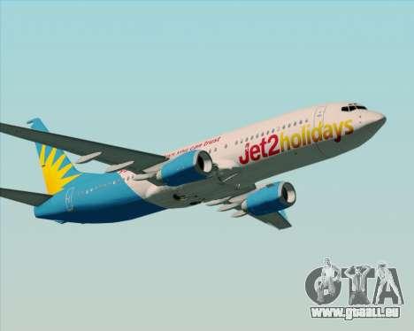 Boeing 737-800 Jet2Holidays pour GTA San Andreas vue de droite