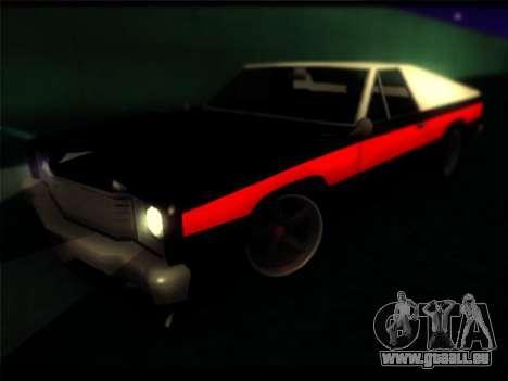 Nouveau Picador pour GTA San Andreas vue arrière
