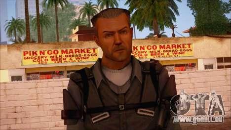 VIP from Counter Strike Condition Zero pour GTA San Andreas troisième écran