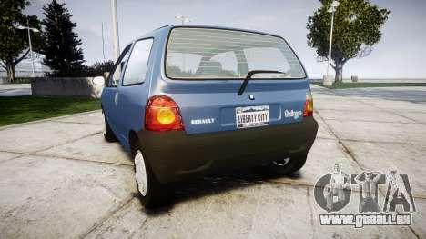 Renault Twingo I für GTA 4 hinten links Ansicht