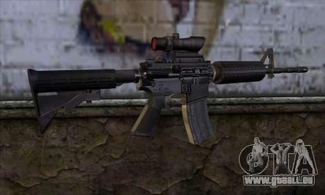 M4 Carbine ACOG pour GTA San Andreas deuxième écran