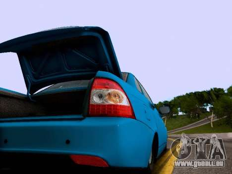 VAZ 2170 für GTA San Andreas obere Ansicht