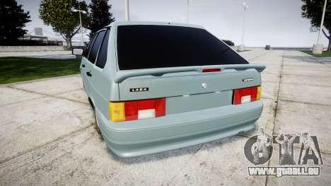 VAZ-2114 Samara-2 für GTA 4 hinten links Ansicht
