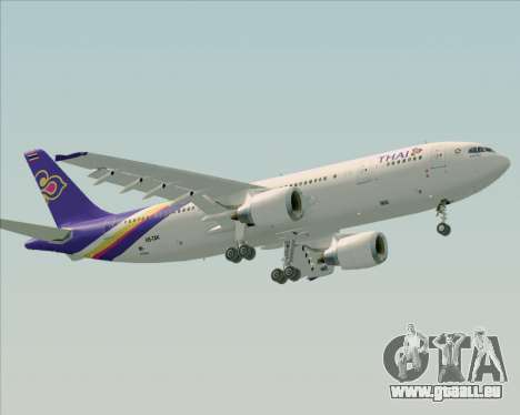 Airbus A300-600 Thai Airways International für GTA San Andreas linke Ansicht
