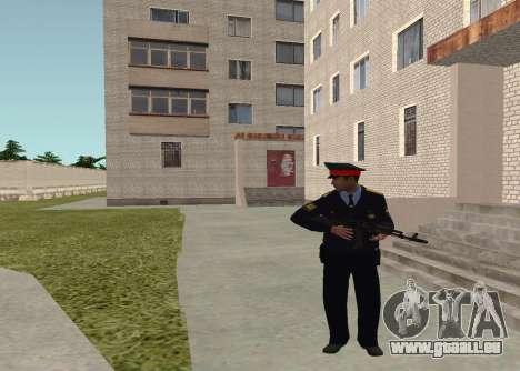 Sergeant Polizei für GTA San Andreas