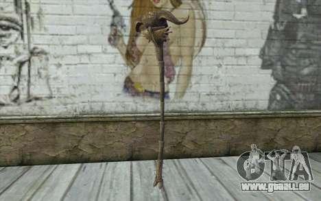 Skull of Corruption from Skyrim für GTA San Andreas zweiten Screenshot