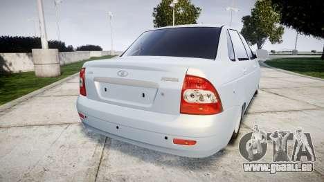 ВАЗ-Lada Priora 2170 Glühbirne für GTA 4 hinten links Ansicht