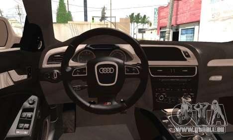 Audi S4 für GTA San Andreas zurück linke Ansicht