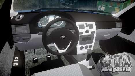 ВАЗ-2171 INSTALLÉ Avant rims2 pour GTA 4 est une vue de l'intérieur