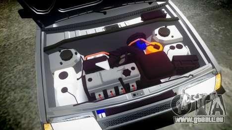 VAZ-2109 Neun für GTA 4 Seitenansicht