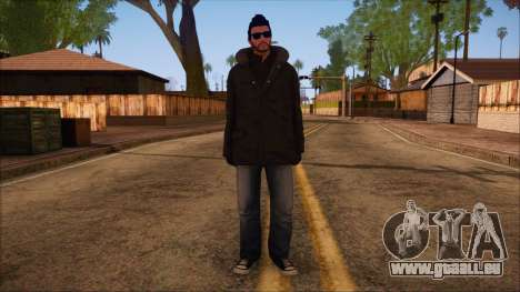 GTA 5 Online Skin 10 für GTA San Andreas
