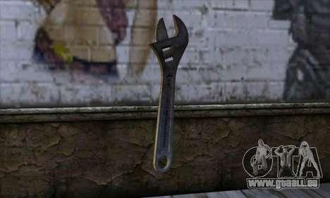 Clé à molette pour GTA San Andreas deuxième écran