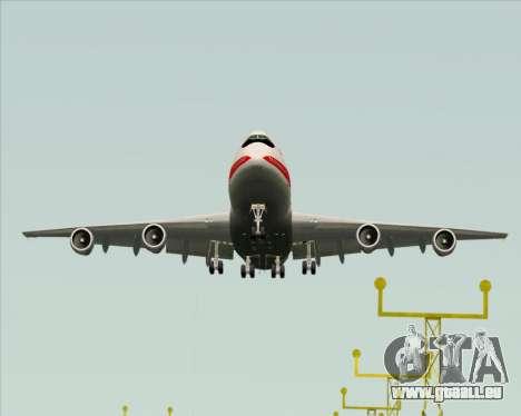 Boeing 747-100 Trans World Airlines (TWA) für GTA San Andreas Rückansicht
