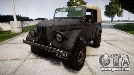 GAZ-69 für GTA 4